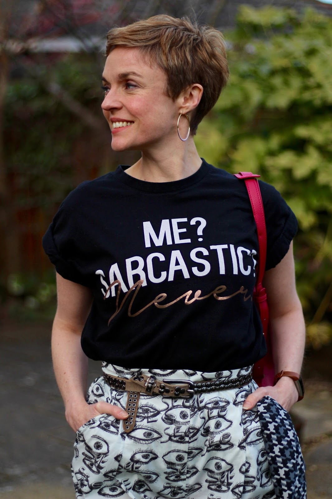 Sarcasm is the lowest form of wit! | Slogan Tee & Culottes | Fake Fabulous