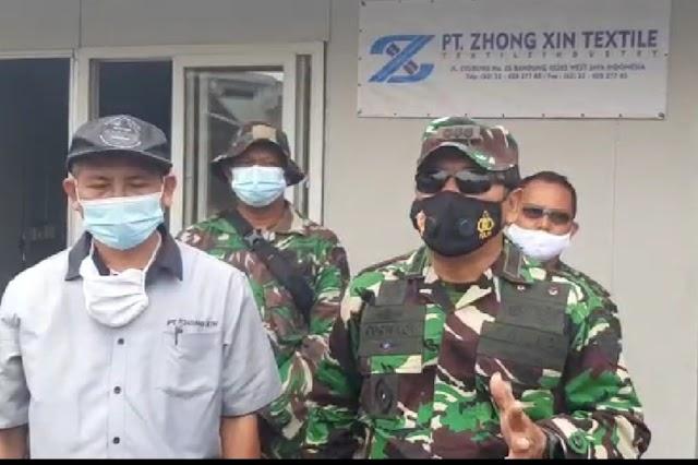 Jalankan Perintah, Dansektor 7 Kembali Patroli Cek Ipal Di PT. Zhong Xien Dan PT. Evergreen