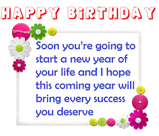 simple and free happy birthday wishes with beautiful image