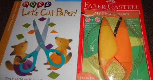 My First Scissors and Kumon Cutting Book Review