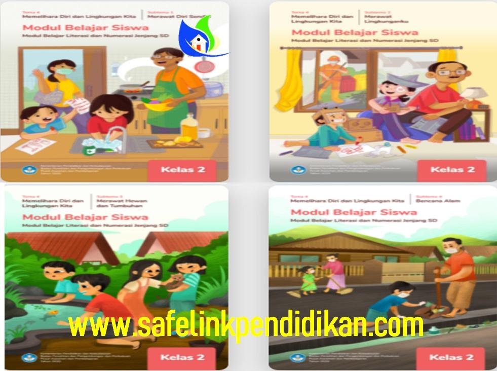 Modul Belajar Literasi Dan Numerasi Tema 4