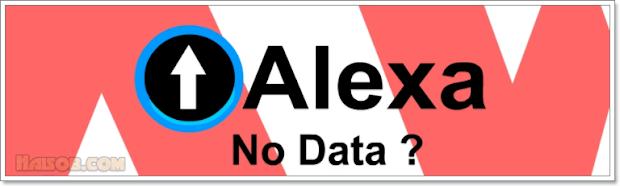 Alexa Rank No Data