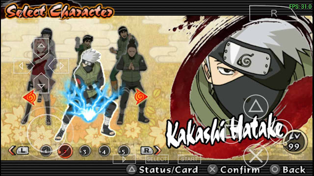 Save game data naruto ninja impact ppsspp android