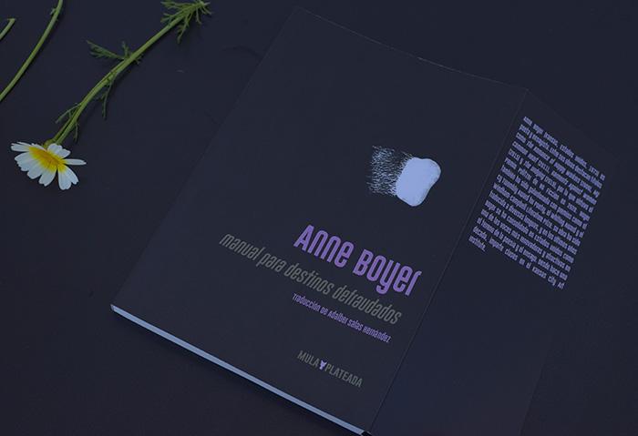 Anne Boyer en la Colección Mula Plateada de Kriller 71 Ediciones