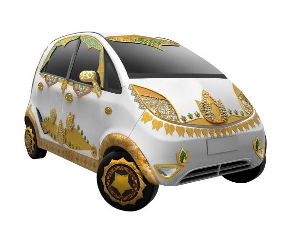 Image Impression: Amazing Nano Golden Car