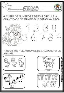 Atividades Dia dos animais educação infantil