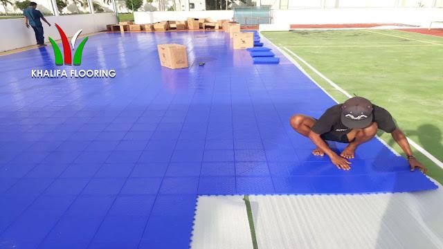 Jual Lantai Lapangan Interlock Futsal di Tasikmalaya