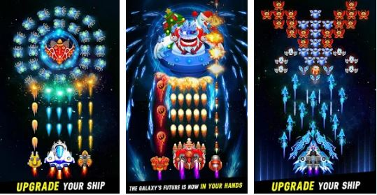 galaxy attack space shooter mod apk unlimited coins