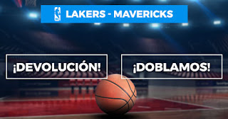Paston promocion NBA Lakers vs Mavericks 30 diciembre 2019