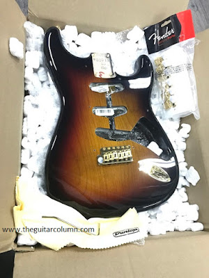 Fender Stevie Ray Vaughan body in 3-tone 'burst