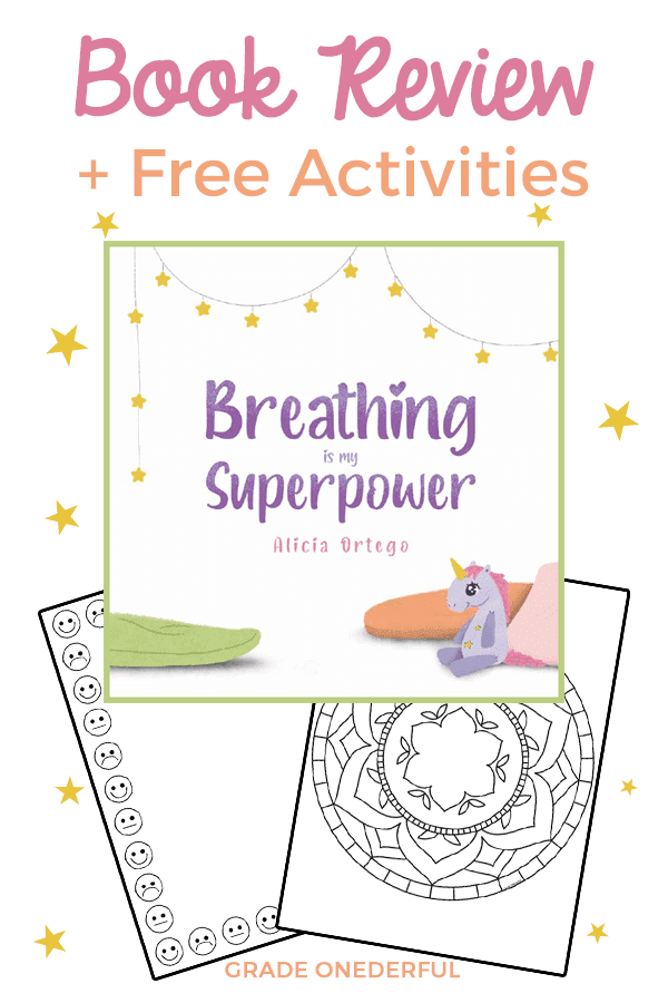 Book review of Reading is My Superpower by Alicia Ortego. Includes links and ideas to activities plus a feelings frame and a mandala coloring page