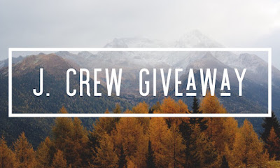 Enter the $100 J.Crew Gift Card Giveaway. Ends 11/9. Open WW