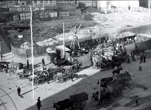 Fotografías antiguas de Madrid a principios del siglo XX