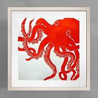 StylishBeachHome.com: Beach + Bedroom + Octopus = Perfection