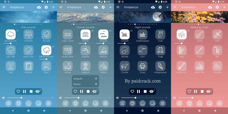 Ambience - Nature sounds Premium Mod Apk 2.5.0