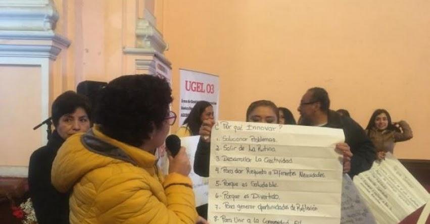 FONDEP realizó charla en Lima sobre innovación educativa - www.fondep.gob.pe