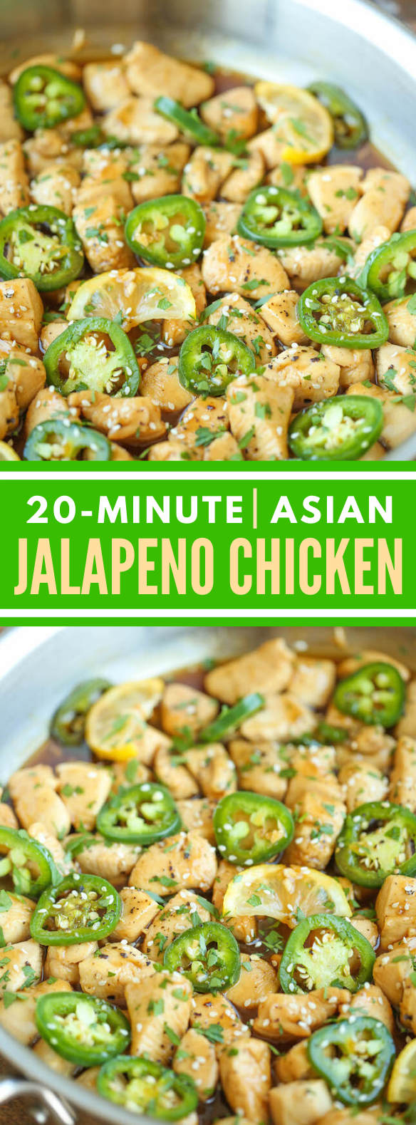 ASIAN JALAPENO CHICKEN #dinner #healthier