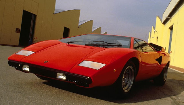 Lamborghini Countach 1970s Italian classic supercar