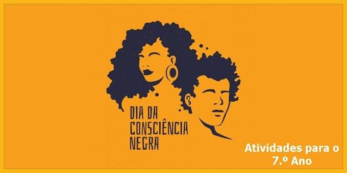 Consciência Negra - Locução Verbal - Atividades de Língua Portuguesa para o 7.º Ano