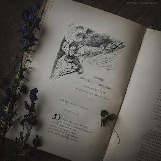 Faust - Johann Wolfgang von Goethe, Walpurgisnacht, Hexennacht, Mandragoreae by Victoria Francés