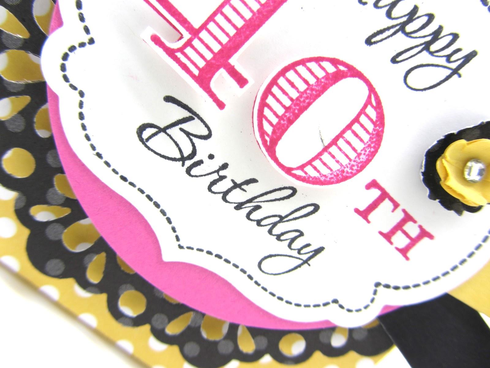 PinkBlingCrafter: Happy 40th Birthday!!!!