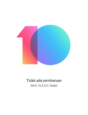 Upgrade MIUI 10.3.2.0