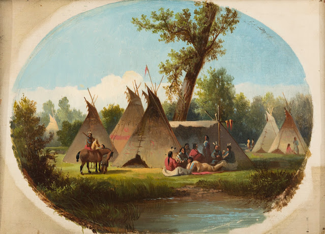 Indian Encampement