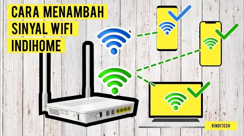 Cara Membagi Jaringan Wifi Indihome Rindi Tech