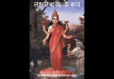 लक्ष्मी शब्द के रूप (Lakshmi Shabd Roop in Sanskrit)
