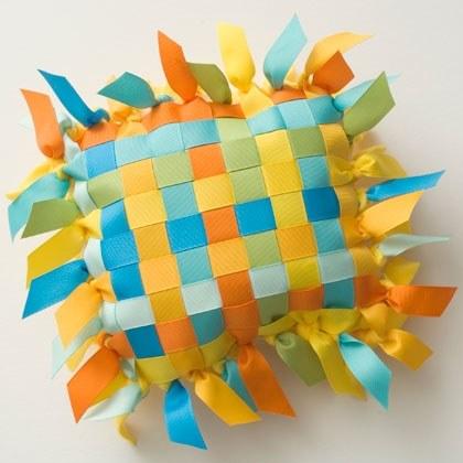 Ribbon Pillow