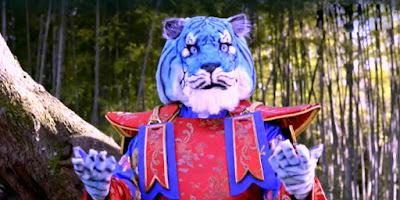 indizi tigre azzurra cantante mascherato