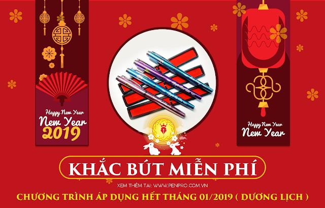 PenPro Khuyến mại mừng xuân 2019