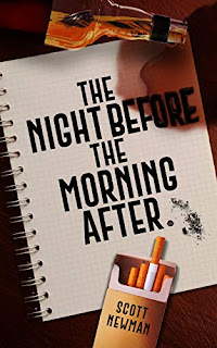 The Night before the Morning After - An Unexpected, Thought-Provoking Gen Z Memoir book promotion by Scott Newman