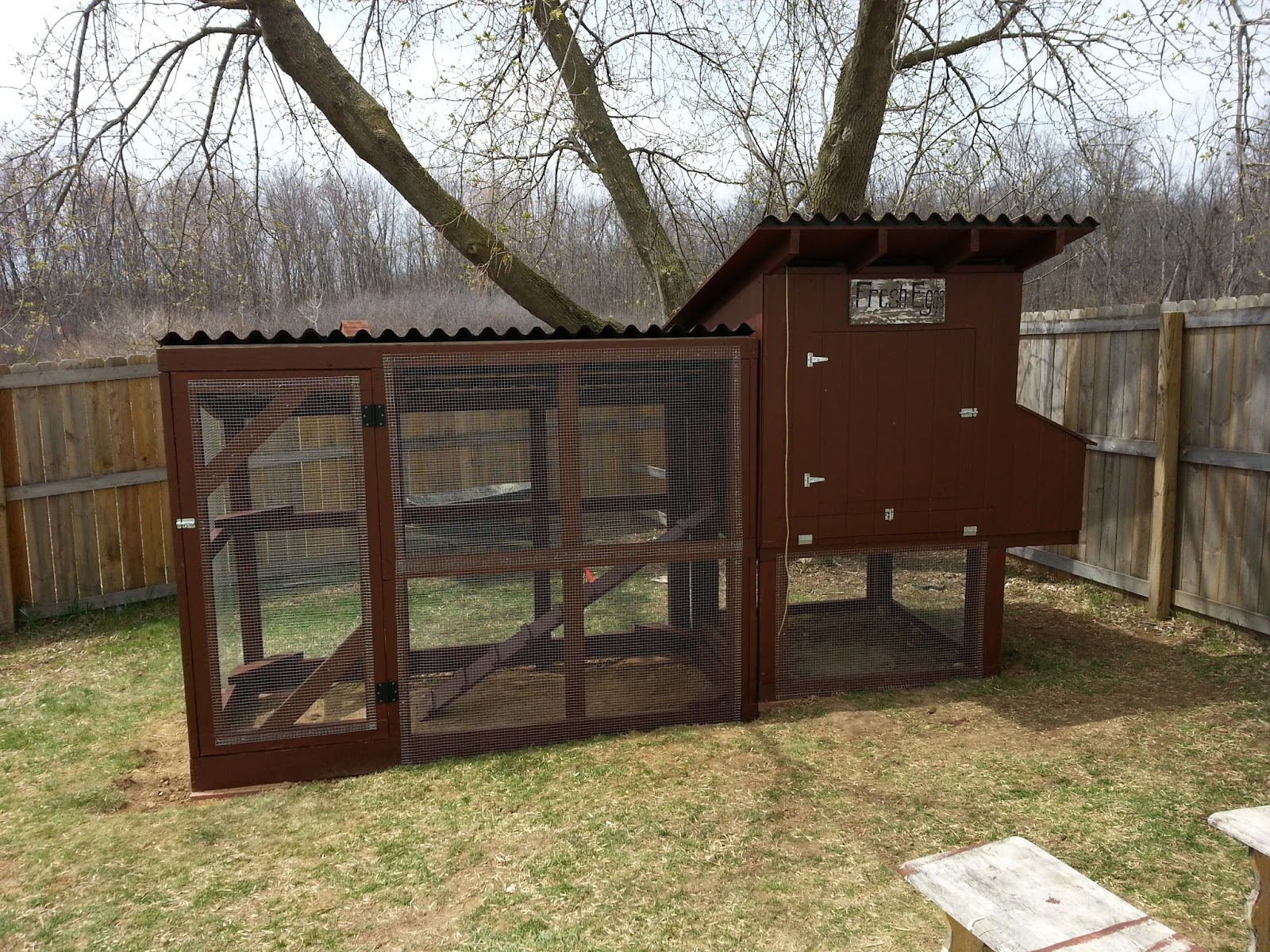 Chicken Coop Sliding Door ~ Simple Suburban Living