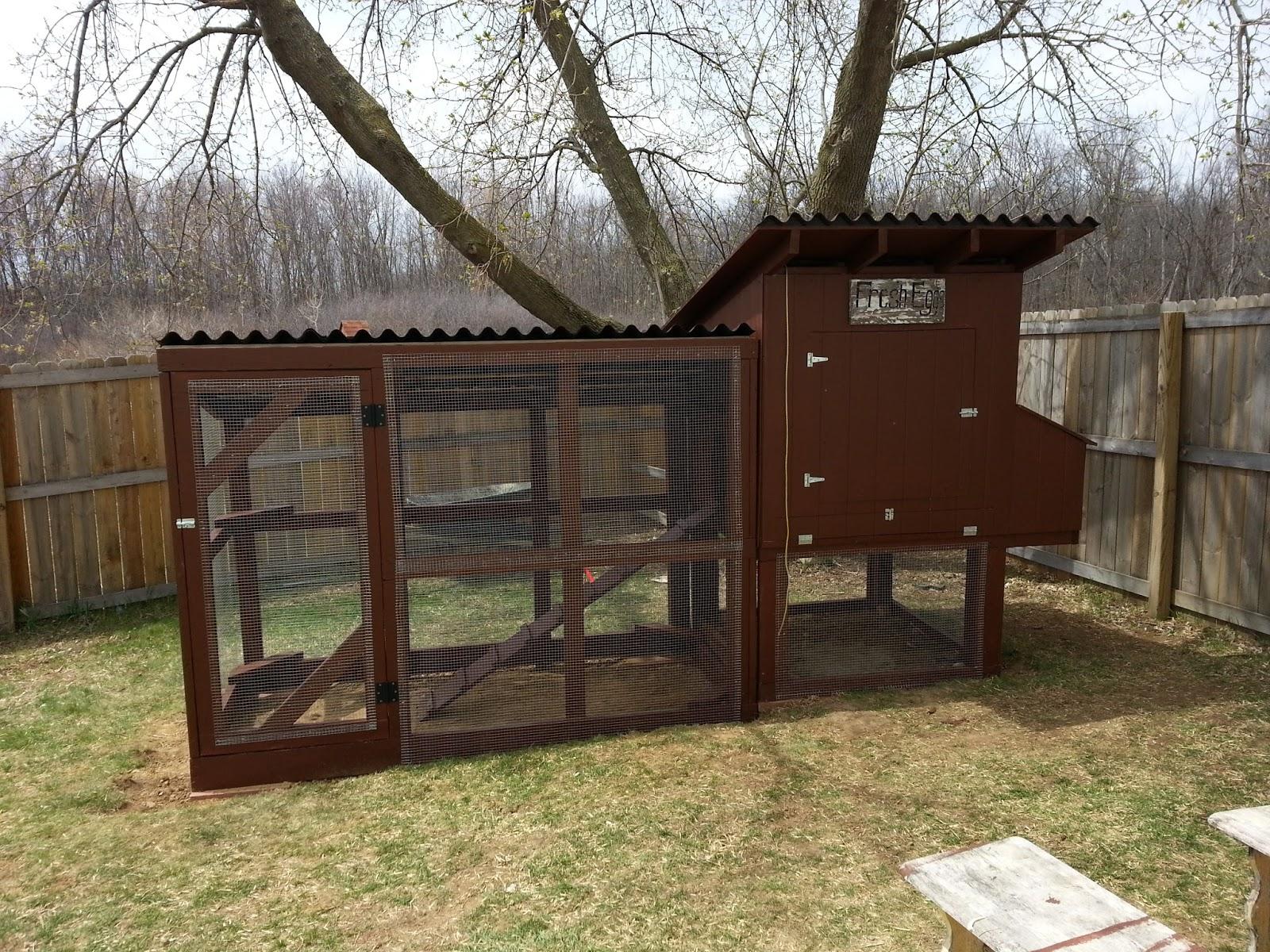 Chicken Coop Sliding Door ~ Simple Suburban Living