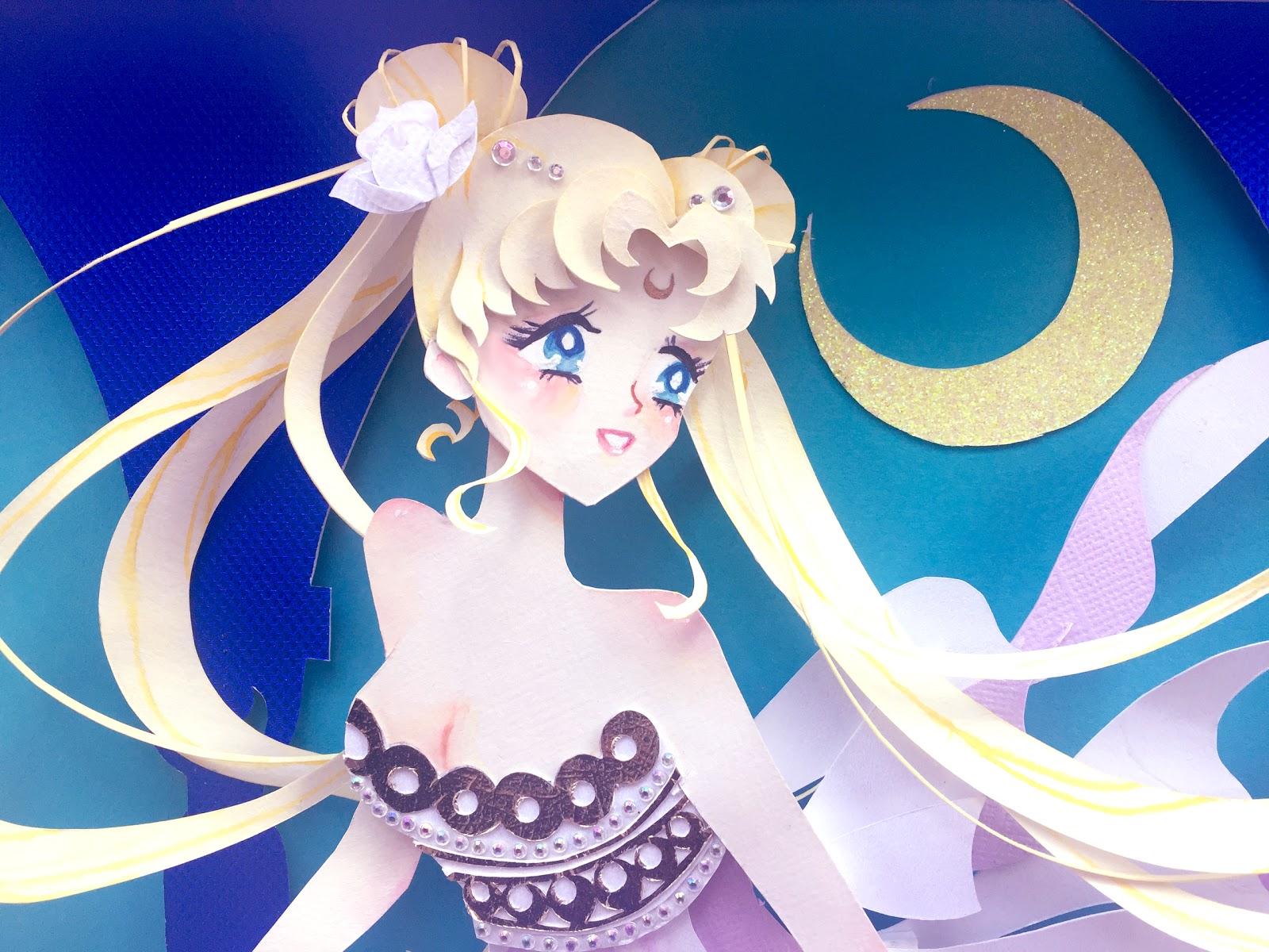 the art of rachel reed sailor moon princess serenity
