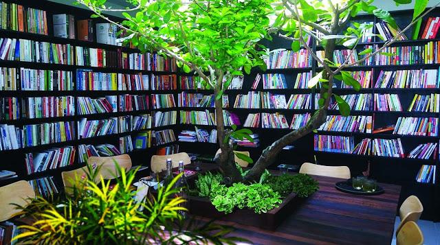 Phòng đọc sách chung cư Núi Trúc Square