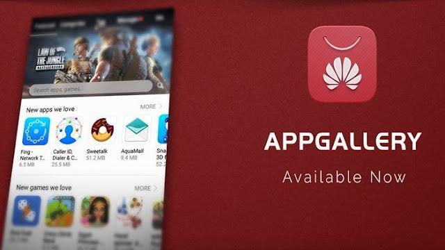 app gallery huawei download