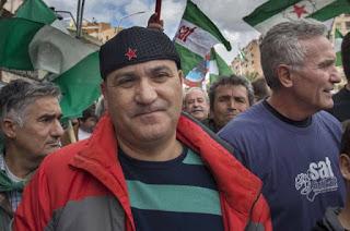 El SAT marchará a pie hasta Madrid el 1 de mayo si Andrés Bódalo permanece en prisión