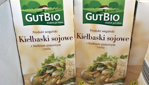 Kiełbaski sojowe, GutBio