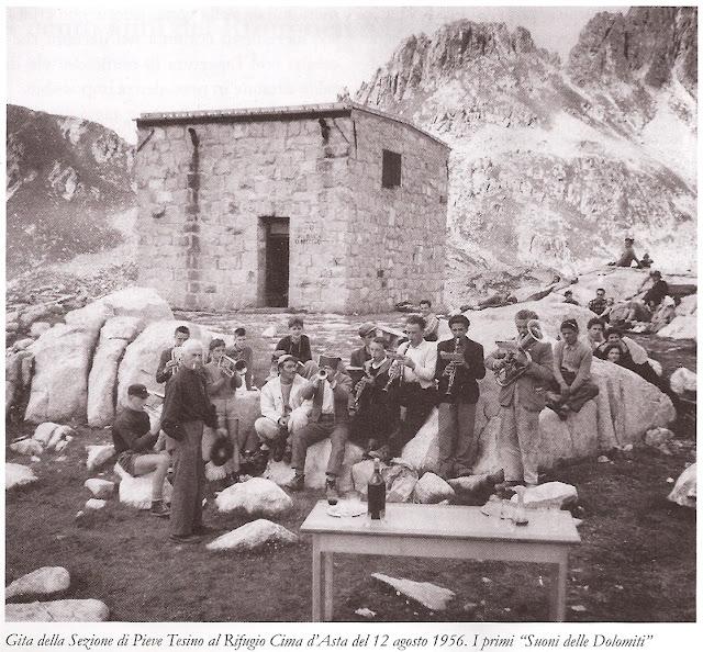 rifugio cima d'asta 1956