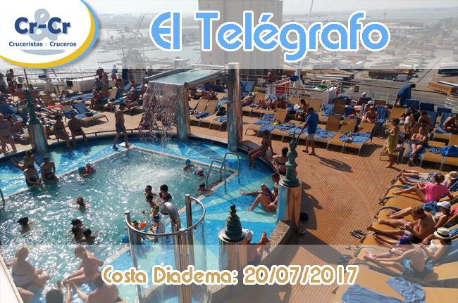 EL TELÉGRAFO - CUARTO DÍA - COSTA DIADEMA 17/07/2017 AL 24/07/2017