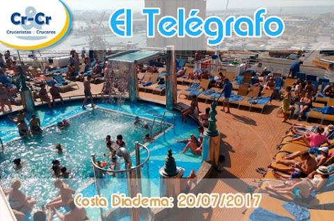 EL TELEGRAFO - CUARTO DIA - COSTA DIADEMA 17/07/2017 AL 24/07/2017