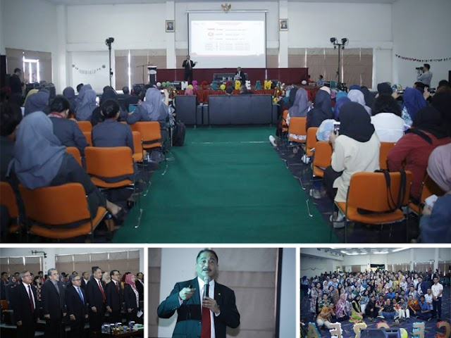 Menpar Hadiri Seminar Creative Marketing on Tourism Industry di Telkom University