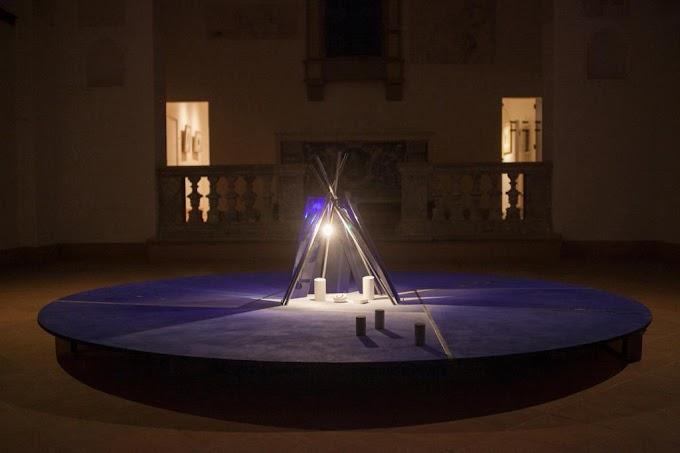 Il Presepe Blu notte di Guido Strazza alla Galleria Nazionale di Roma