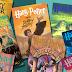 Harry Potter books by J K Rowling
