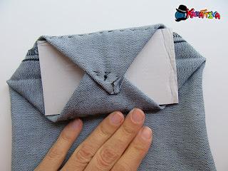 come trattenere il cartoncino sul fondo del cestino
