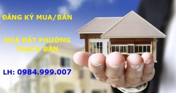 Bán đất phố Ngọc Trì, phường Thạch Bàn, DT 62m2, MT 4.6m, SĐCC, 2020