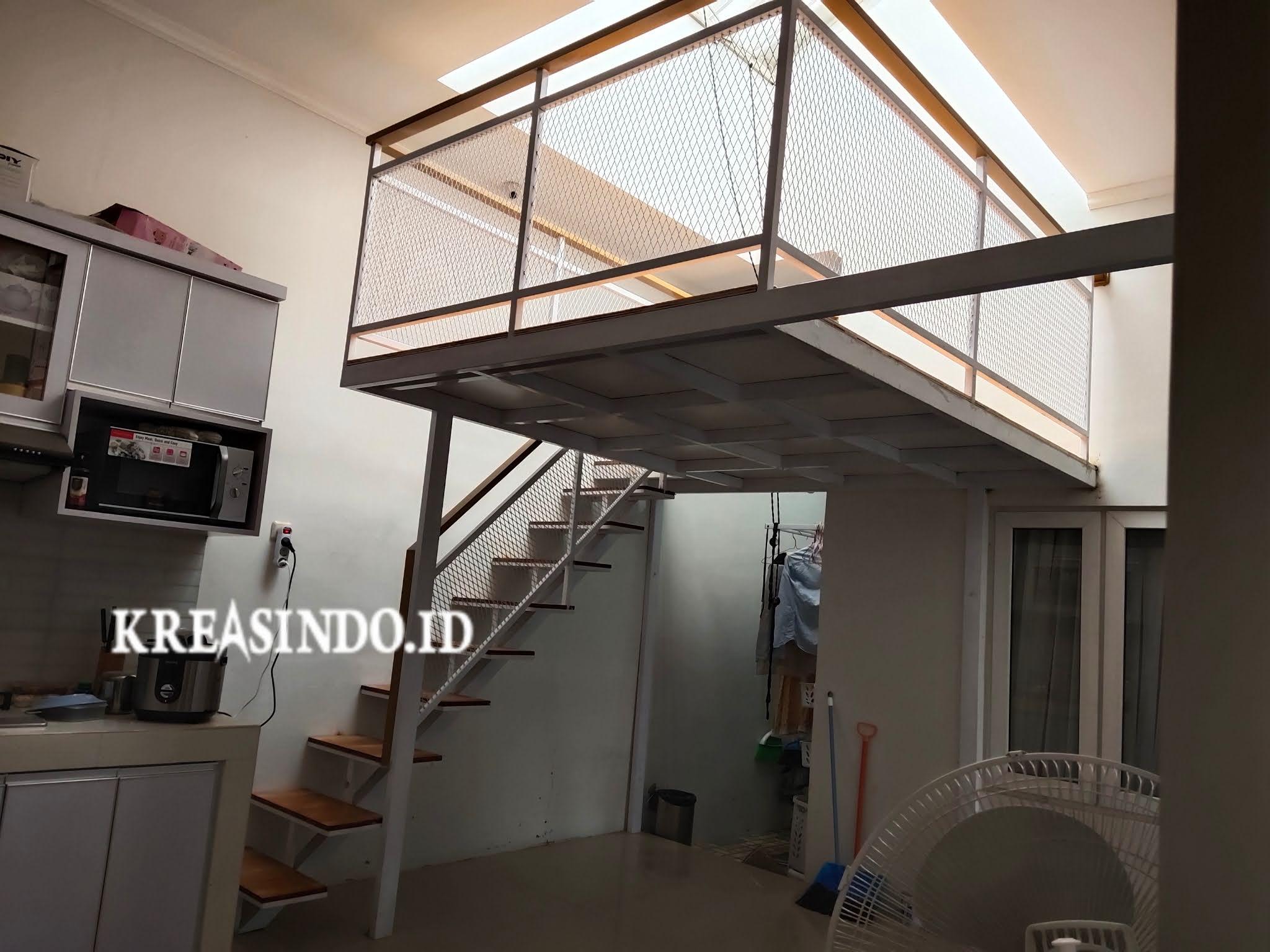 Harga Jasa Pembuatan Mezzanine dan Mezzanine Canopy Balkon [ Harga Update Februari 2021 ]