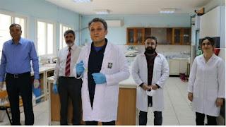 """خبراء أتراك يبتكرون """"مادة فعالة"""" لمكافحة كورونا"""